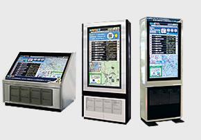 デジタルサイネージの設置導入からコンテンツ制作・運用まで広くサポート