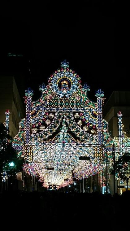 「神戸ルミナリエ」開催