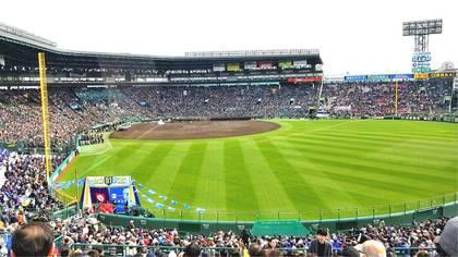 春のセンバツ高校野球の開会式へ!!